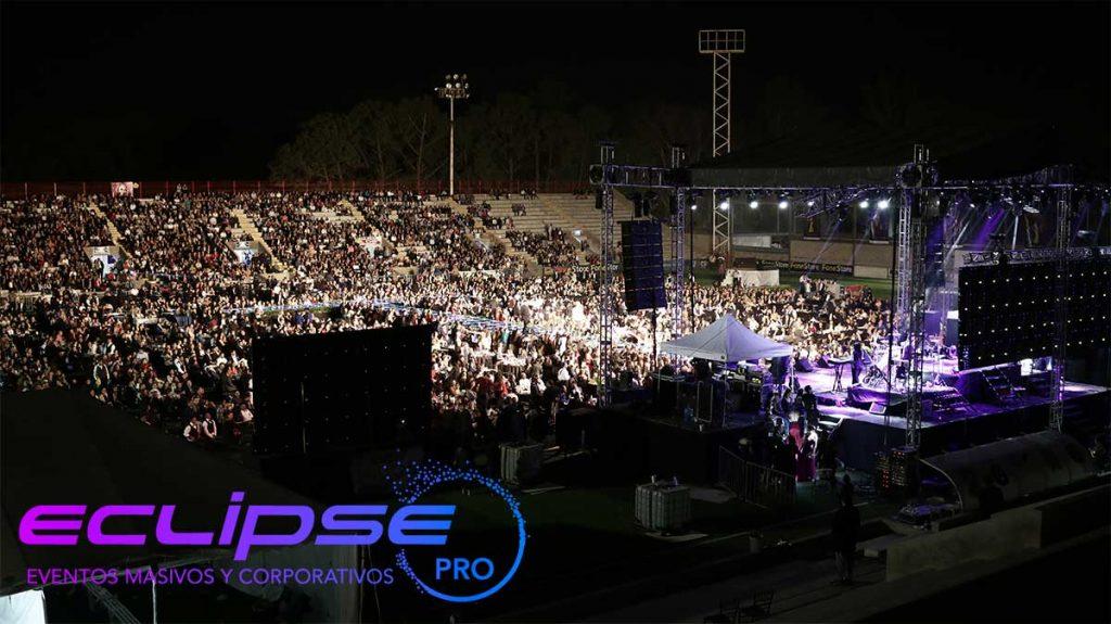 Renta de equipos para conciertos y eventos corporativos